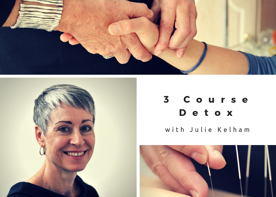 3 Course Detox Treatment – Acupuncture with Julie Kelham